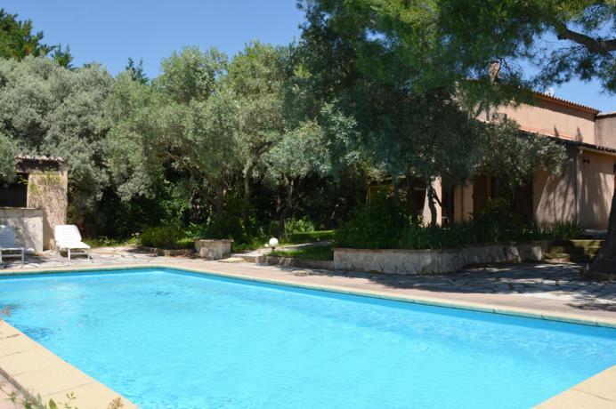 villa avec psicine et jardin cloturé à vendre