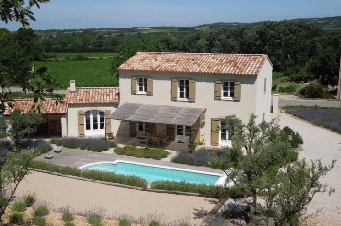 huur luxe vakantiehuis aan de Mont Ventoux, Provence voor 10 personen