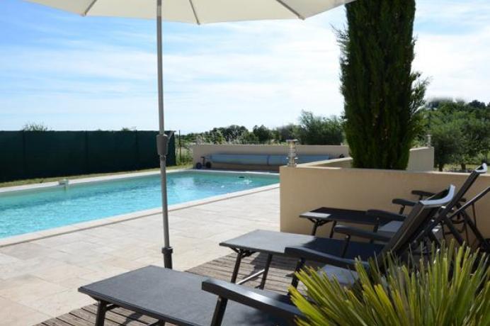 location saisonnière provence vaucluse mont ventoux gîte 6 personnes avec clime et piscine privée  région Mont Ventoux