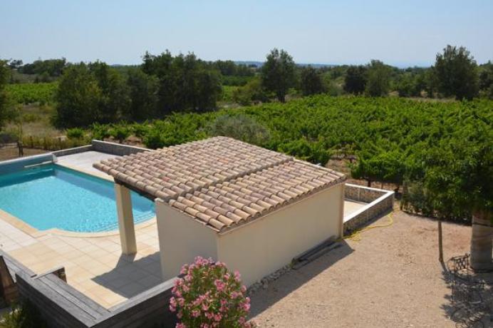 maison de vacances de luxe au pied du Ventoux pour 12 personnes avec piscine privée