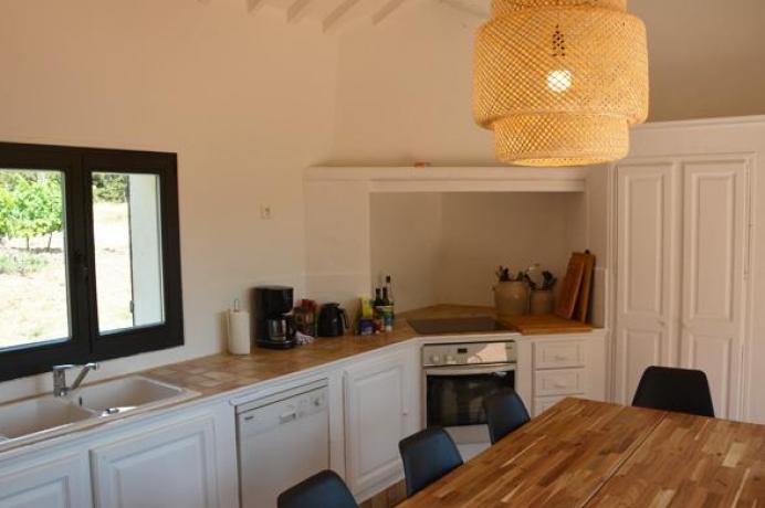 louer une villa de luxe en Provence pour 12 personnes avec vue sur le Mont Ventoux, piscine privée