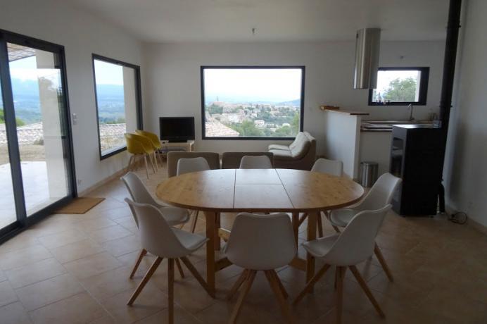 villa te huur in de Provence met prachtig zicht op de Mont Ventoux