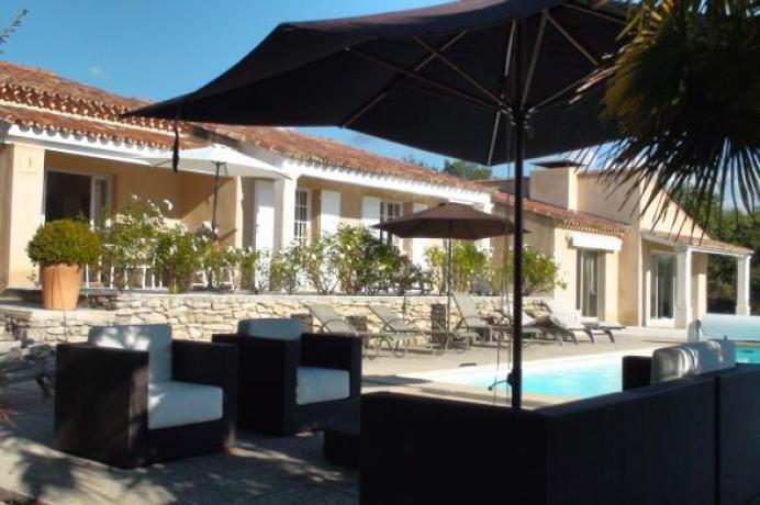 huur luxe vakantiehuis in de Provence, Luberon voor 8 personen