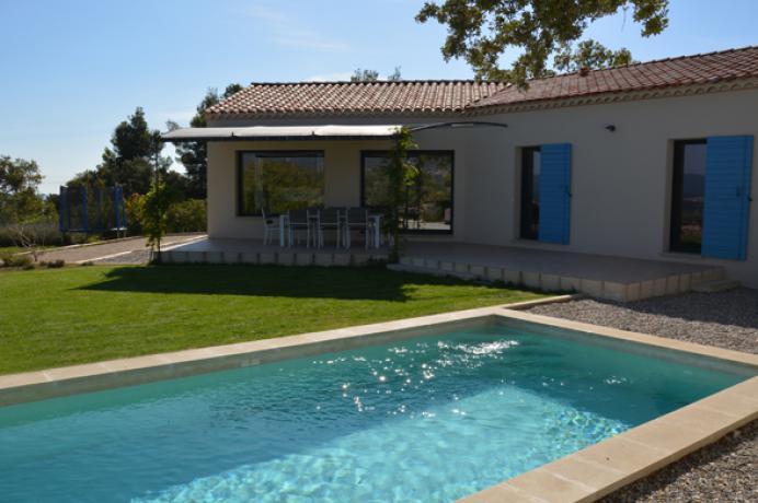 vakantiehuis te huur in Zuid-Frankrijk met zicht op de Mont Ventoux