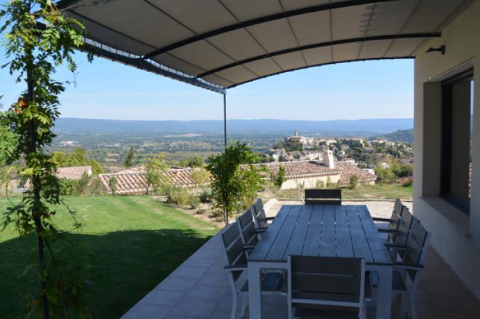 modern huis huren voor 8 personen in de Provence