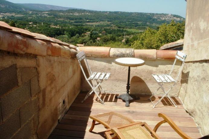 vakantiewoningen provence huren Luberon, Bonnieux