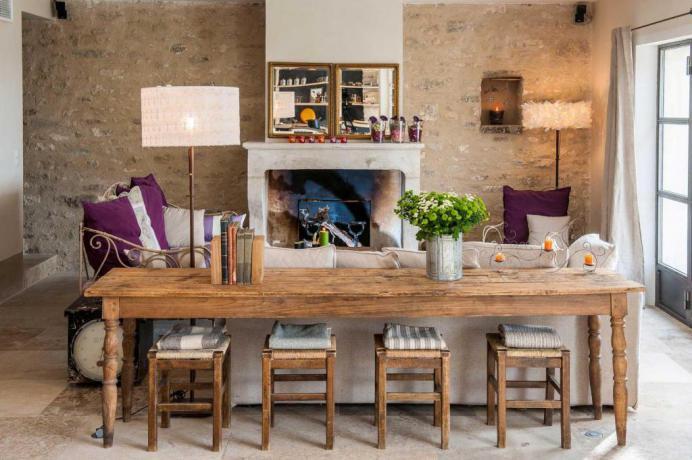 luxe villa huren in de Luberon, Provence, Zuid-Frankrijk