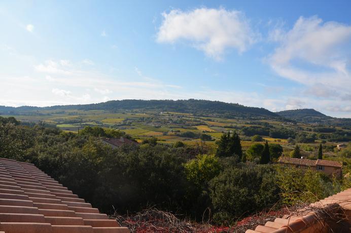 villa met zwembad en prachtig zicht op de Mont Ventoux en Dentelles de Montmirail kopen in Zuid-Frankrijk