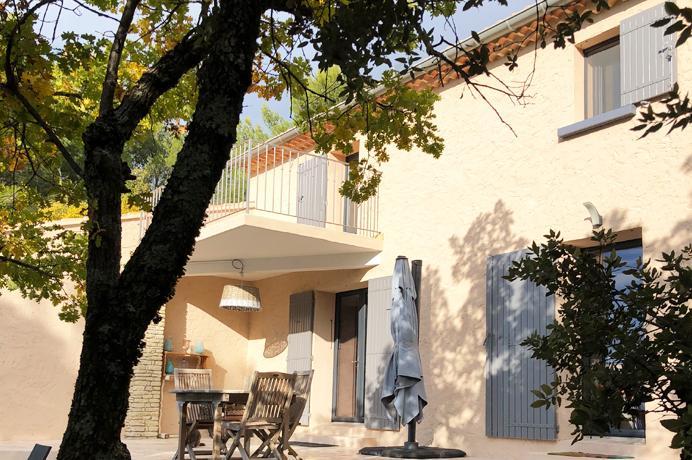 grote villa kopen in Provençaals dorp met grote tuin, zwembad, extra bouwgrond en prachtig zicht op de streek, Provence, Mont Ventoux