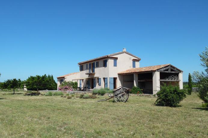 à vendre: mas avec vigne et truffière en Provence