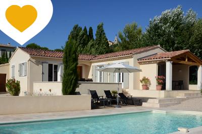 location saisonnière en Provence, louer une villa pour 6 personnes avec clime, région Vaucluse, Mont Ventoux, Crillon-le-Brave