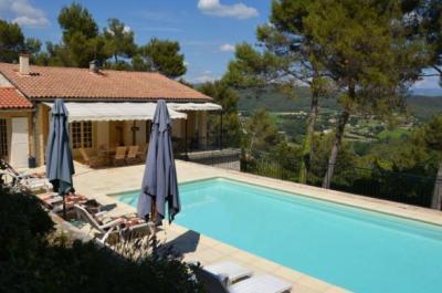 location saisonnière à Vaison-la-Romaine pour max. 8 personnes vue Mont Ventoux, piscine chauffée