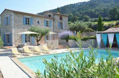 villa haut de gamme à louer à Sablet (Provence)
