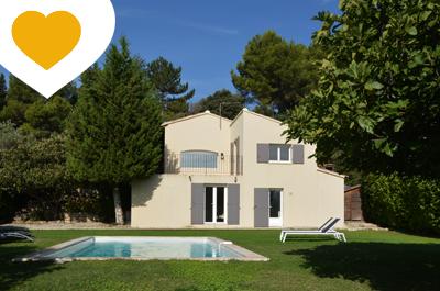 moderne villa met zwembad kopen in de Provence, Zuid-Frankrijk via Belgisch makelaar