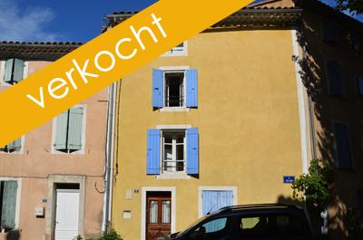 dorpshuis vastgoed kopen in de Provence met tuin en dakterras bij Belgisch immokantoor