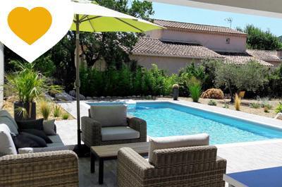 energiezuinige, moderne villa kopen in Zuid-Frankrijk met tuin, zwembad en buitenkeuken