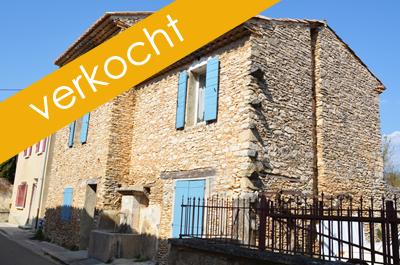 huis kopen met tuin in een gezellig Provençaals dorpje aan de voet van de Mont Ventoux