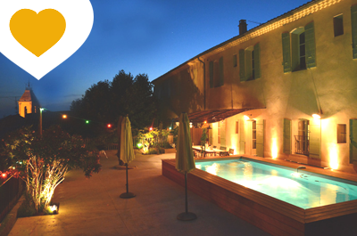 grote villa kopen met zwembad in Zuid-Frankrijk, Provence met zicht op de Mont Ventoux, vastgoed